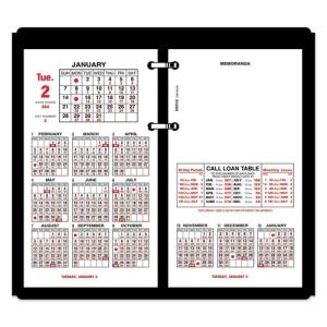 At A Glance Burkhart S Day Counter Desk Calendar Refill