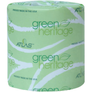 Atlas Paper Mills Green Heritage Toilet Tissue Individually Wrapped 2 Ply 400 Roll Apm248