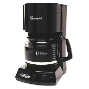 Automatic Drip Coffee Maker History : Coffee Pro Home/Office 12-Cup Coffee Maker - OGFCP333B