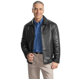 Port Authority - Park Avenue Lambskin Jacket.  J785
